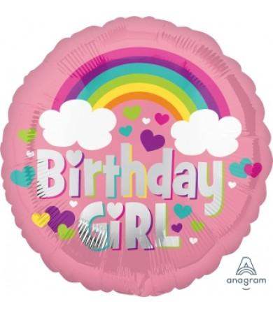35571 Birthday Girl Rainbow Fun