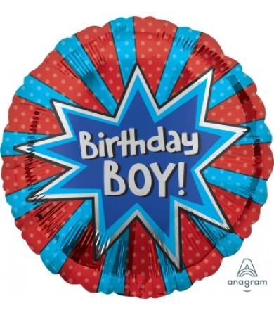 35572 Birthday Boy Burst