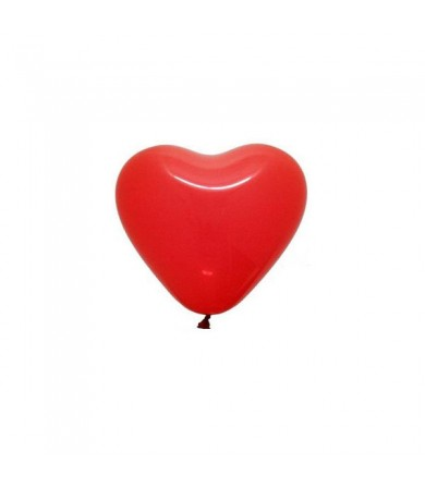 "Atex 5"" Heart Shaped Fashion Red"