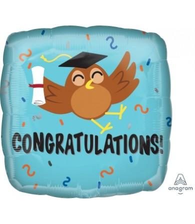 37202 Congratulations Grad Owl