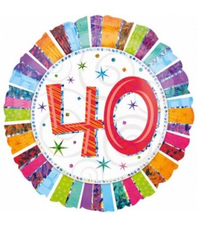 16070 Radiant Birthday 40