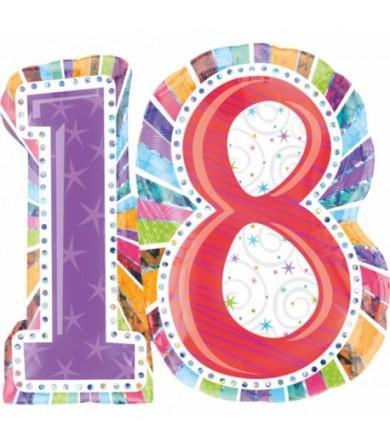 16063  Birthday 18 - Radiant