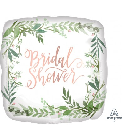 "38518 Love & Leaves Bridal Shower (18"")"