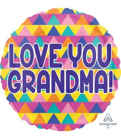 "35887 Grandma Triangle Pattern (18"")"