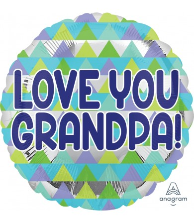 "35888 Grandpa Triangle Pattern (18"")"