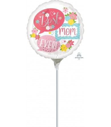 "37085 Best Mom Ever Bubbles (4"")"
