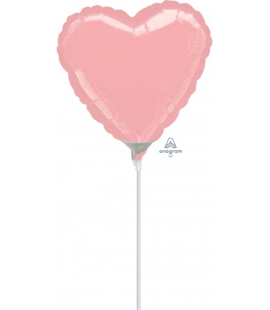 "16467 Pastel Pink Heart (9"")"