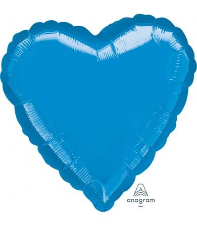 """16235 Blue Heart (32"""")"""