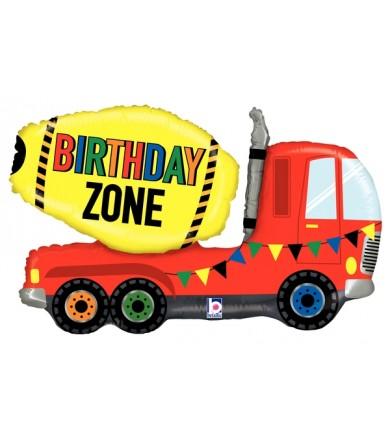 """35557P Birthday Zone Truck (30"""")"""