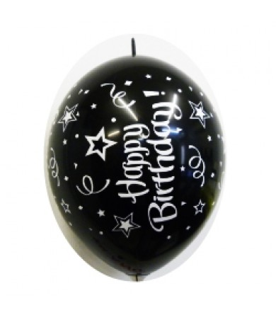 "Happy Birthday - 12"" LOL Fashion Balloon AO Print"