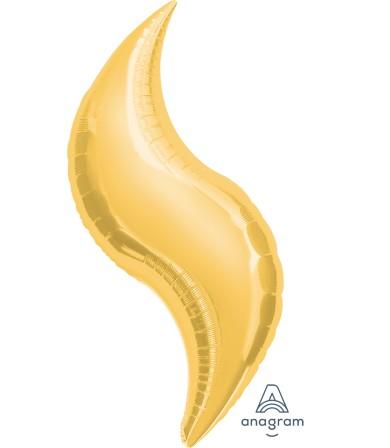 "16143 Gold Curve 36"""