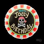 "00601 Jolly Birthday (18"")"