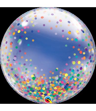 """57791 Colorful Confetti Dots [Bubbles Balloon] (24"""")"""