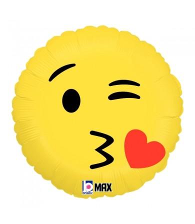 """36505P Emoji Kiss (18"""")"""