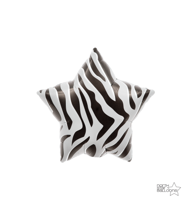 "00763 - Zebra Star (9"")"