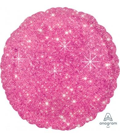 "32330 Faux Sparkle Hot Pink (18"")"