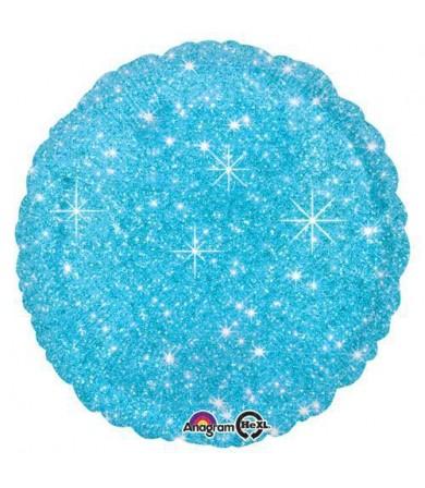 """32651 Faux Sparkle Blue (18"""")"""