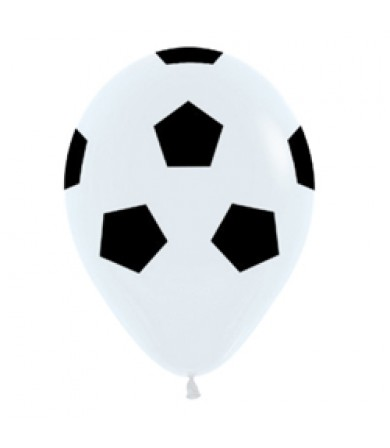 "Sempertex 12"" Fashion Solid White 005 - AO Soccer"