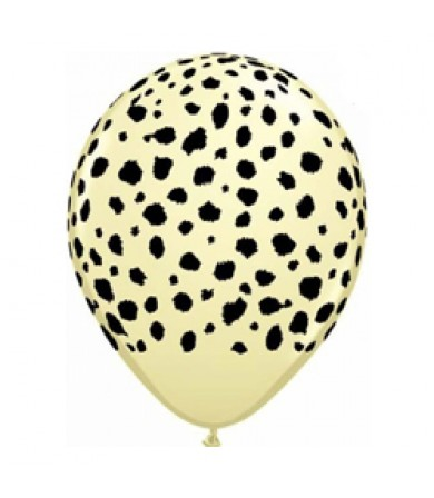 "Sempertex 12"" Fashion Pastel Ivory 173 - AO Cheetah"