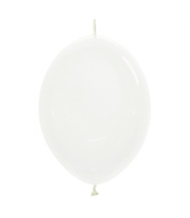 "Sempertex 12"" LOL Balloon Crystal Clear 390"
