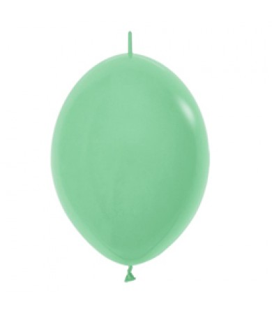 "Sempertex 12"" LOL Balloon Fashion Solid Green 030"