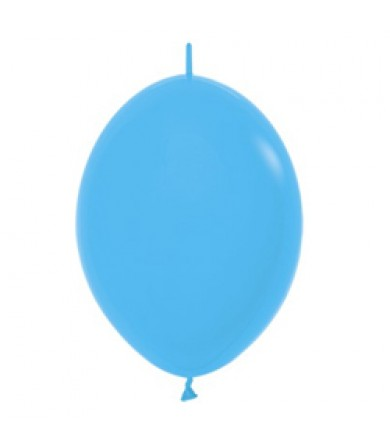 "Sempertex 12"" LOL Balloon Fashion Solid Blue 040"