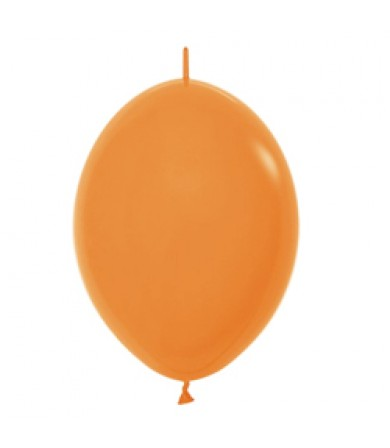 "Sempertex 12"" LOL Balloon Fashion Solid Orange 061"
