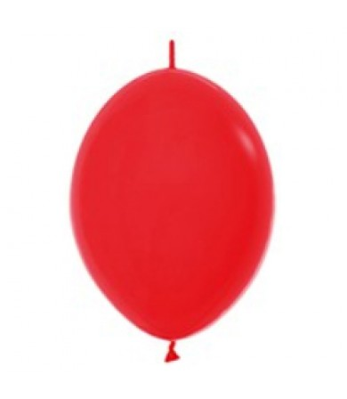 "Sempertex 12"" LOL Balloon Fashion Solid Red 015"