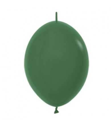 "Sempertex 12"" LOL Balloon Fashion Solid Forest Green 032"