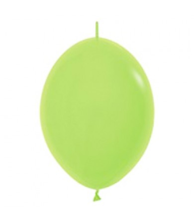 "Sempertex 12"" LOL Balloon Fashion Solid Lime Green 031"