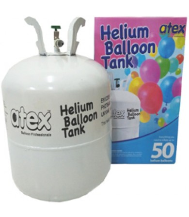 Balloon Gas - Atex Disposable Gas Tank only